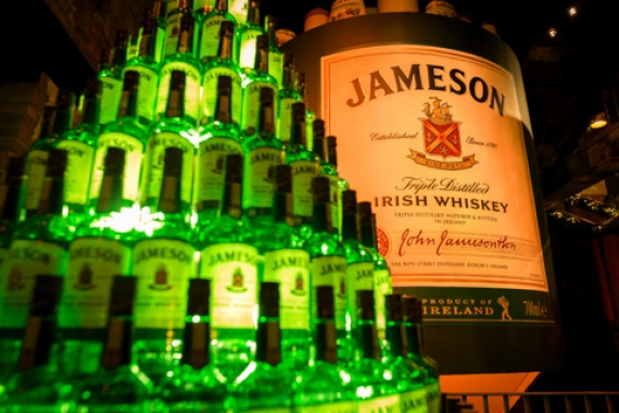 Nearly six million cases of Jameson were shipped previous year