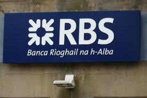 RBS shares fall as bank posts ninth consecutive year of losses