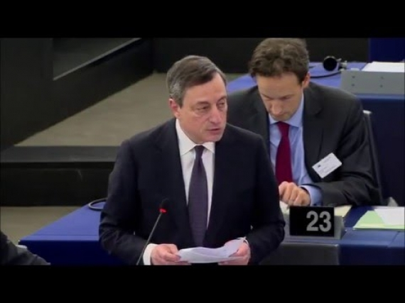 The market misjudged yesterday's speech from Draghi