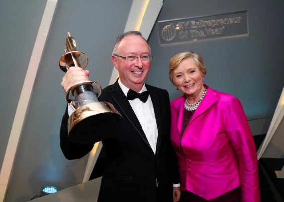 Harry Hughes Named 20th Ey Entrepreneur Of The Year