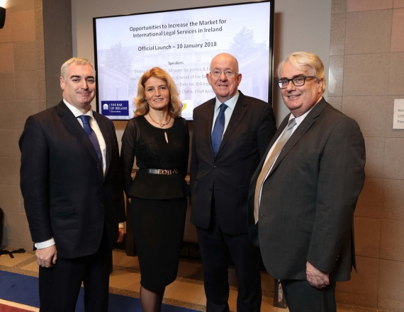 Bar launches initiative to promote Irish legal services after Brexit