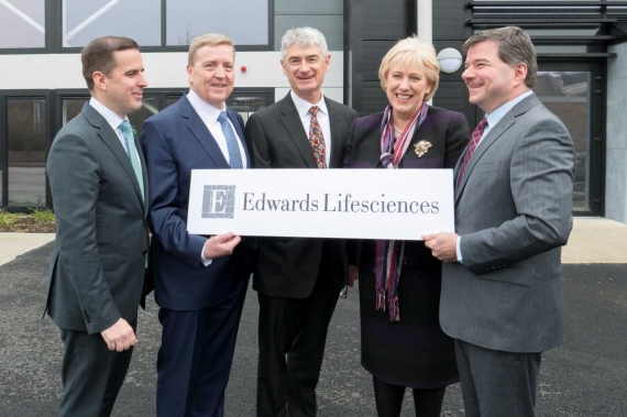 Edwards Lifesciences to create 600 jobs in Shannon