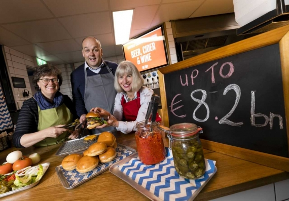 Irish foodservice market to reach value of €8.2bn in 2018