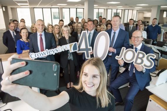 Cork Accountancy Firm Crowleys DFK announce 40 new jobs