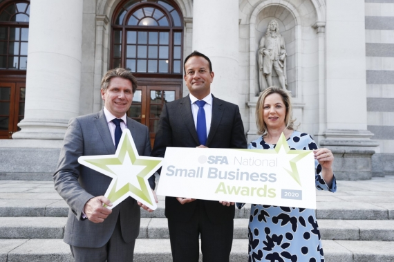 An Taoiseach launches SFA National Small Business Awards 2020
