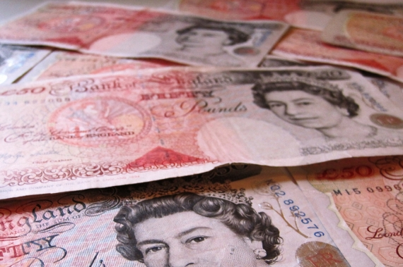 Pound set for biggest monthly rise in a decade