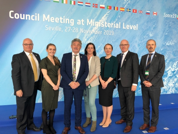 Ireland invested over €100 million to 2024 in strategic ESA space programmes