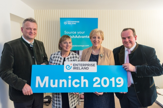 Enterprise Ireland open new offices in Munich and Lyon