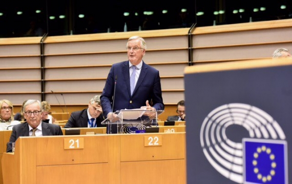EU's Brexit top negotiator Barnier has coronavirus
