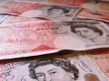 Sterling hits three week low