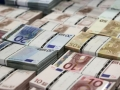Euro hits six-week high